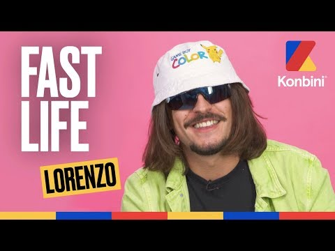 Youtube: Lorenzo raconte sa vie mouvementée dans ceeee geeeeenre de Fast Life bien épicé Mamène   Konbini