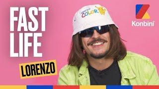 Lorenzo raconte sa vie mouvementée dans ceeee geeeeenre de Fast Life bien épicé Mamène | Konbini
