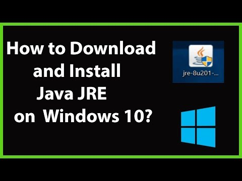 How To Download And Install Java JRE (Java Runtime Environment) On Windows 10?