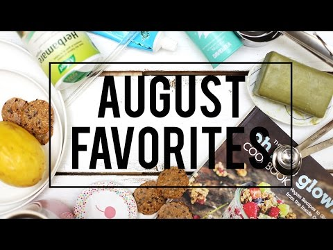August Favorites 2015 + GIVEAWAY | Fablunch