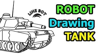 How to draw a Tank quick & easy (Drawing for kids)
