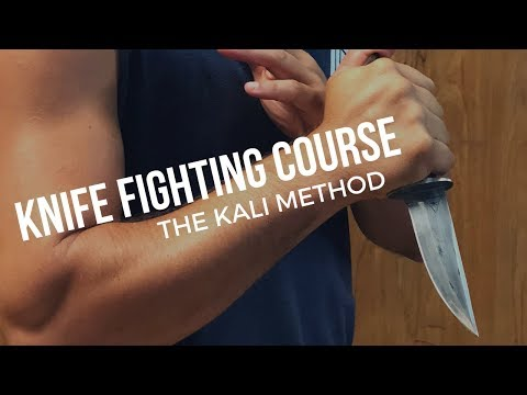 Filipino KNIFE Fighting - Kali Escrima Arnis Martial Arts