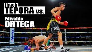 JHACK TEPORA vs EDIVALDO ORTEGA   MANNY PACQUIAO VS LUCAS MATTHYSSE FIGHT   UNDERCARD