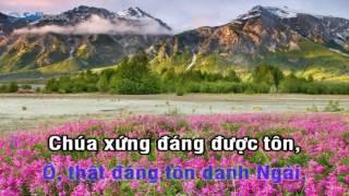 [Karaoke TVCHH] 039 - CHÚA XỨNG ĐÁNG THAY - Salibook