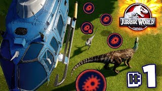 THE DISEASE THAT KILLED MY PARK!!! - Jurassic World Evolution - JURASSIC MODE | Ep1 HD
