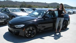 NEW BMW M3 / M Performance Exhaust Sound & Review