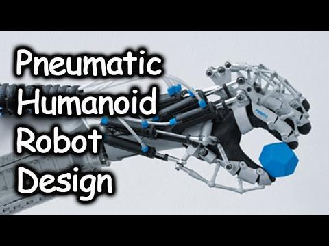 Pneumatic Based Humanoid Robot Design