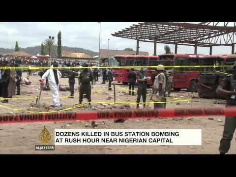 Dozens killed in Nigeria bus station bombing