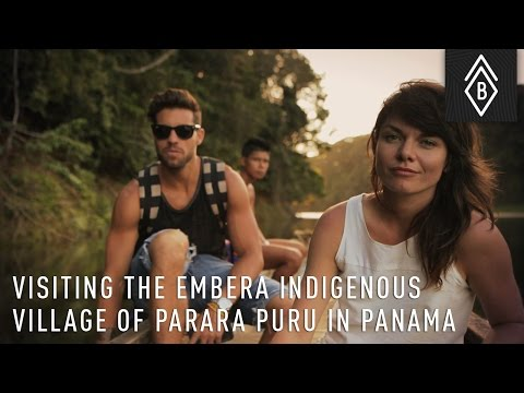 Visiting The Embera Indigenous Village Of Parara Puru In Panama