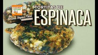 Tortitas de espinaca - Cocina Vegan Fàcil
