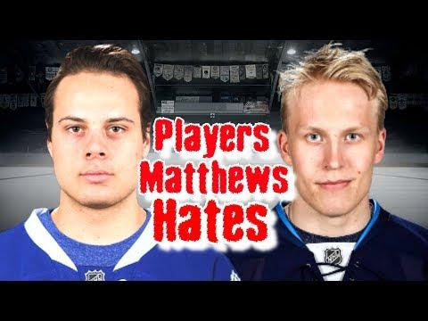 Auston Matthews/5 Players He HATES