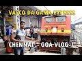 Trip to GOA with Friends - Train Journey