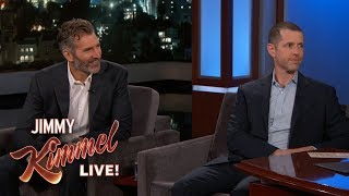 Download Game of Thrones Creators David Benioff & D.B. Weiss Answer All Your Questions Mp3 and Videos