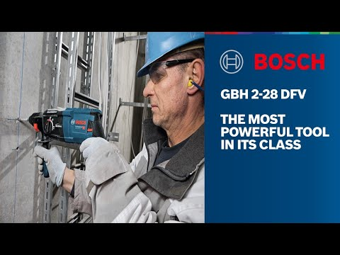 Bosch Rotary Hammer Drill SDS Plus - Bosch GBH 2-28 DFV Professional