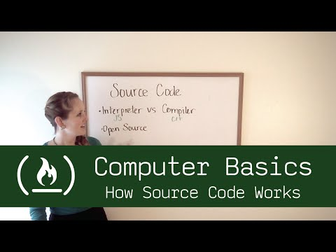 Computer Basics 18: How Source Code works