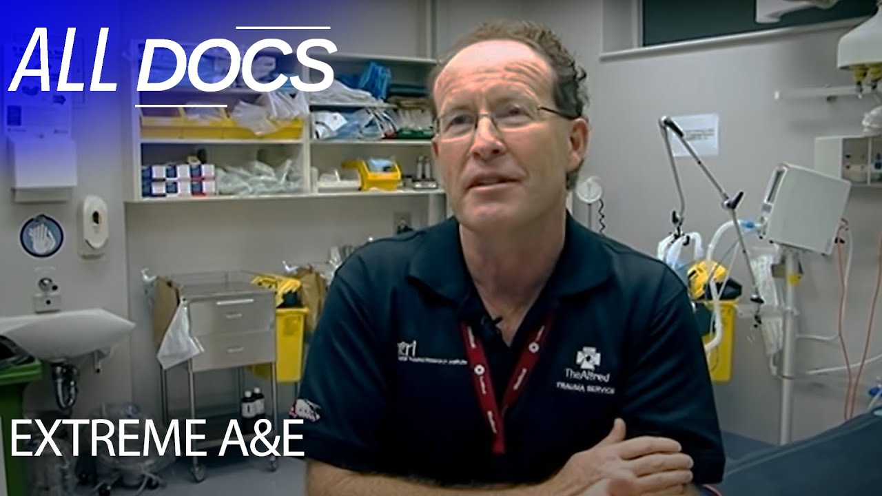 Extreme A&E - The Alfred Trauma Hospital in Australia | Medical Documentary | Documental
