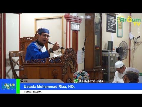 (19/05/2018) Kultum Tarawih Malam 4 Ramadhan 1439 H - Ustadz Muhammad Riza, HQ