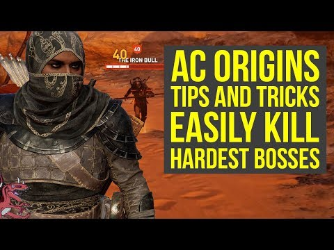 Assassin's Creed Origins Tips TO EASILY KILL HARDEST BOSSES (PHYLAKE) (AC Origins Tips and Tricks) Mp3
