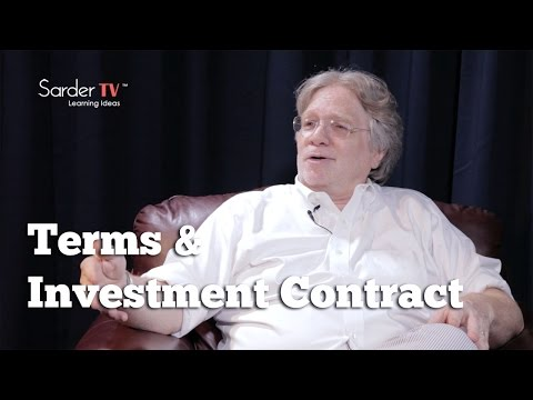 What kinds of terms should be in an investment contract? by David S. Rose, Author of Angel Investing