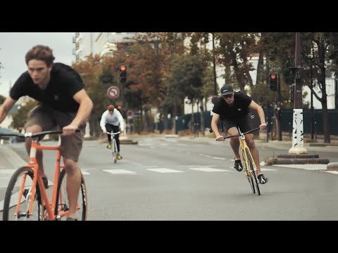 ChainReaction - Riding Bikes Day and Night in Paris // Fixed Gear