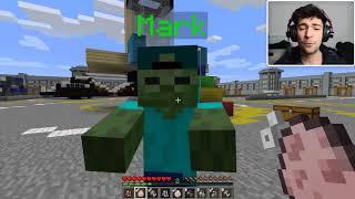 Minecraft WILL IT BLEND MOD / BLENDING UP FARM ANIMALS FOR FRESH FOOD!! Minecraft
