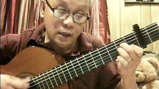 Bão Tình (Hoàng Trọng - lời: Duy Viêm) - Guitar Cover