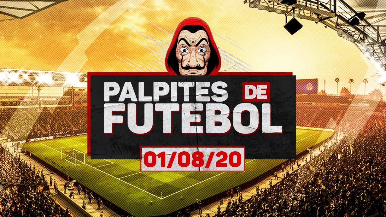 ⚽ PALPITES DE FUTEBOL PARA SÁBADO DIA 01/08 + BILHETE PRONTO