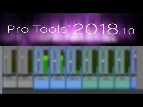 Pro Tools 2018.10