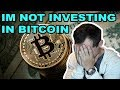 Bitcoin nears $10k: Why I'm NOT investing in Bitcoin (The Truth)