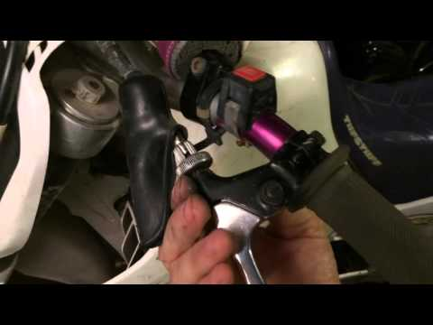 How To Replace A Motorcycle Clutch Lever - YouTube