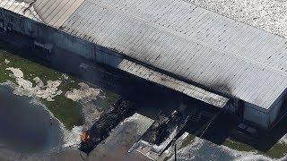 Flooded Chemical Plant Explodes In Houston