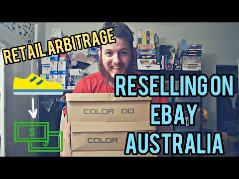 Retail Arbitrage In Australia To Resell On EBay / Flipping Shoes Into Cash