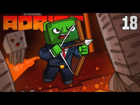 Minecraft: ADRIFT - DEATH FROM ABOVE!!! (Ep.18)