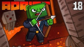 Minecraft: ADRIFT - DEATH FROM ABOVE!!! (Ep.18)
