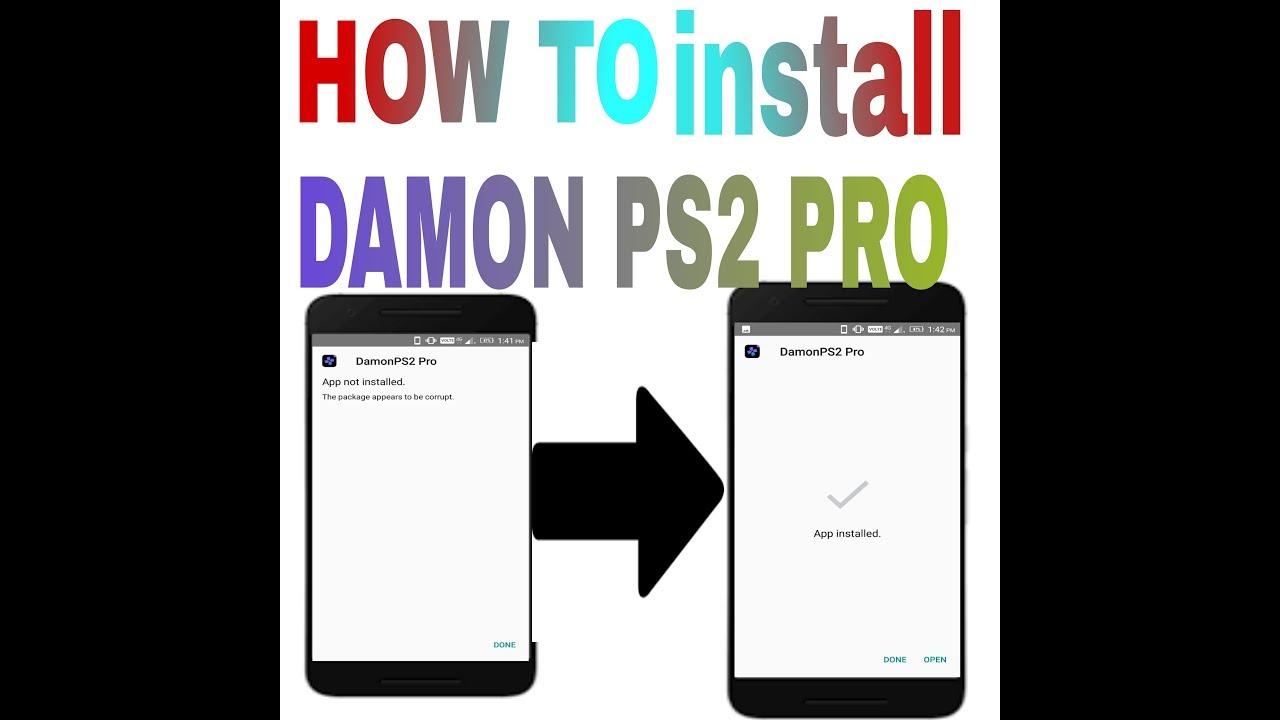 damon ps2 pro apk cracked free download
