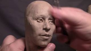 Sculptor David Lemon - Commission - Fine Tuning and Tearing up