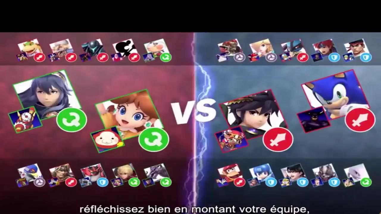 Liste De Tous Les Esprits Disponibles Dans Super Smash Bros