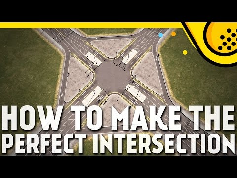 How to make the perfect intersection in Cities: Skylines