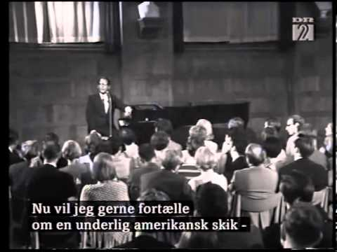 Tom Lehrer Full Copenhagen Performance