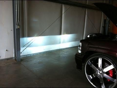 Sharp Cutoff 8000k Hid Projector Headlight Conversion 01