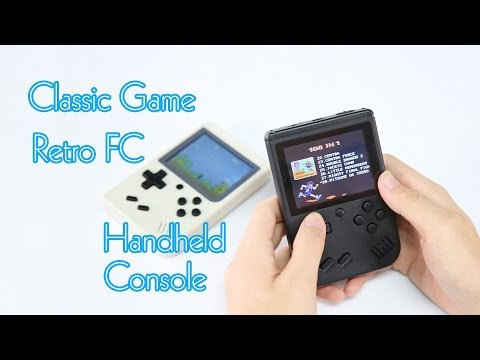 Classic Game Retro FC Handheld Console - GearBest.com