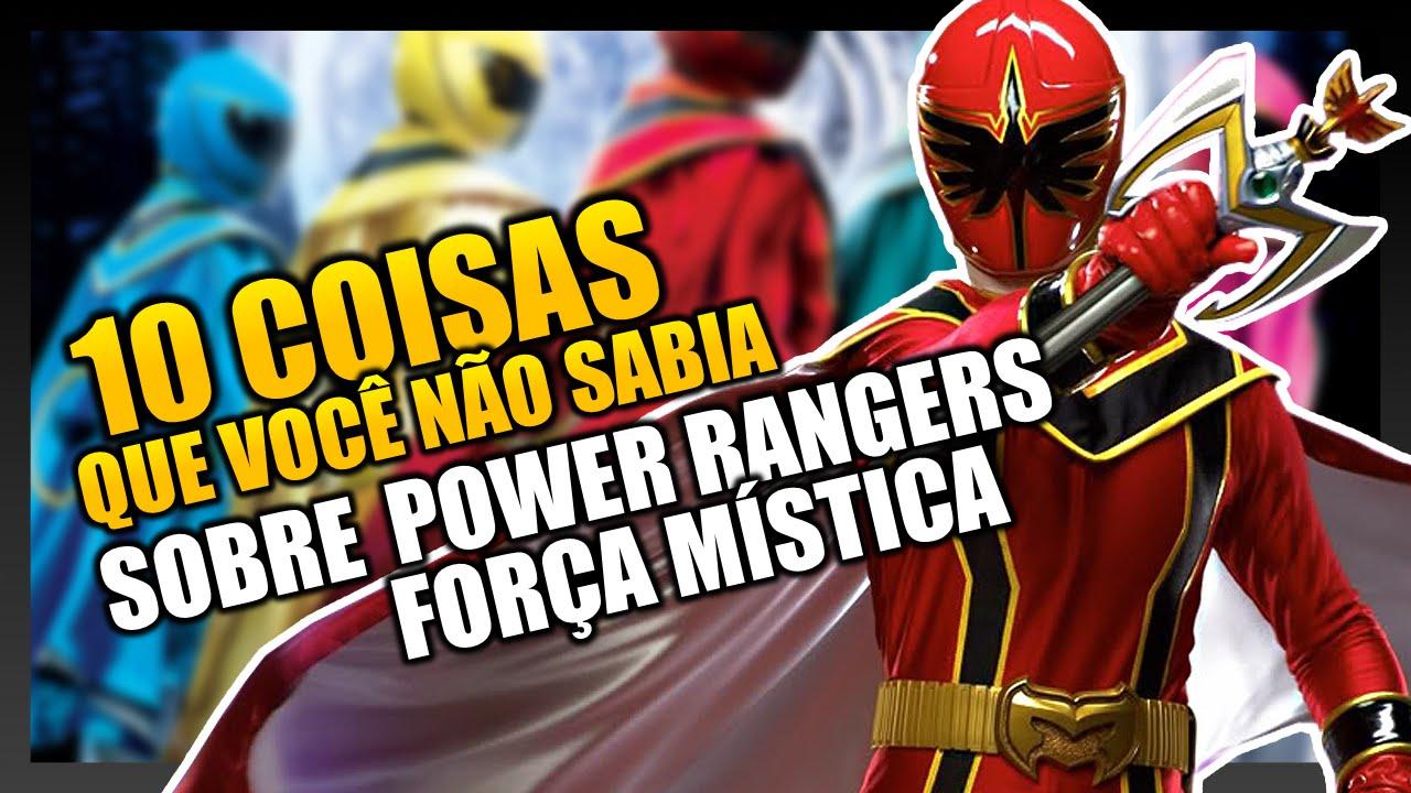 10 Coisas Que Voce Nao Sabia Sobre Power Rangers Forca Mistica