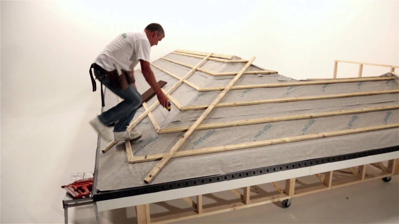 Fixing Installing Lightweight Roofing Eaves Battens