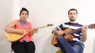 Eftelya (Gitar/Saz) Milyonlarin izlediği Kızdan Süper Ses ve Yorum