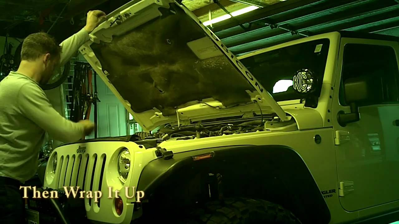 Jeep Wrangler Oil Change How To Youtube