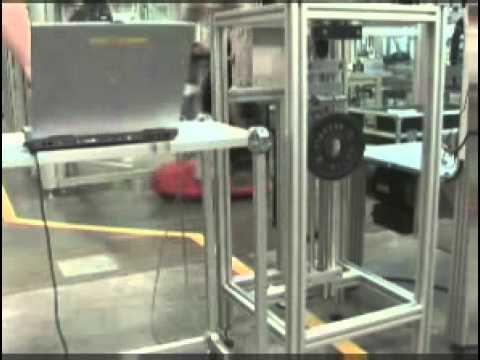 Trapezoidal lead screw drive test