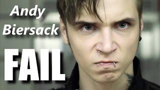Andy Biersack FAIL┃RockStar FAIL