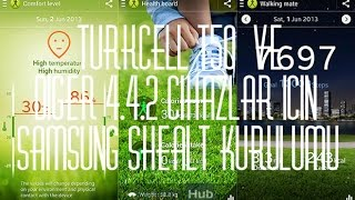 Turkcell T50 Ve Diğer 4.4.2 Cihazlar İçin SHealth Kurulumu