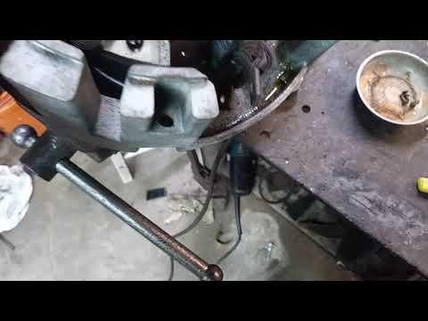 DC motor part 2 stuck brushes