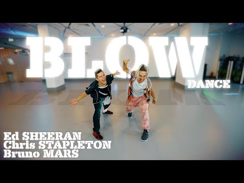 Ed Sheeran - BLOW with Chris Stapleton & Bruno Mars dance - Patman Crew Choreography